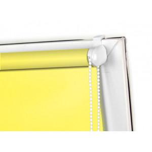 Roleta MINI zaciemniająca, żółta, na wymiar