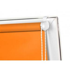 Roleta MINI zaciemniająca, pomarańczowa, na wymiar
