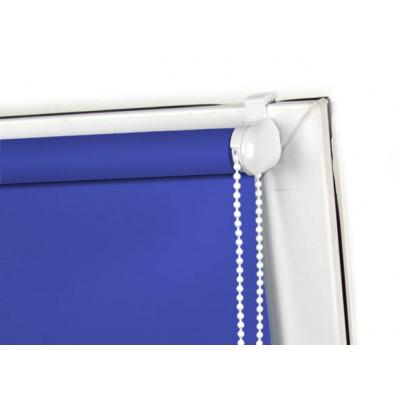 Roleta MINI zaciemniająca, niebieska, na wymiar