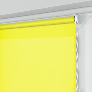 Roleta MINI z tkaniną STANDARD, żółta, na wymiar