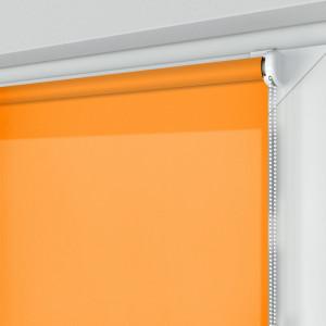 Roleta MINI z tkaniną STANDARD, pomarańczowa, na wymiar