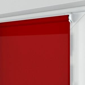 Roleta MINI z tkaniną STANDARD, czerwona, na wymiar