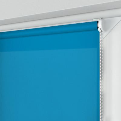 Roleta MINI z tkaniną STANDARD, niebieska, na wymiar
