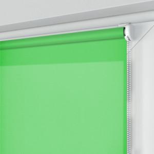Roleta MINI z tkaniną STANDARD, zielona, na wymiar