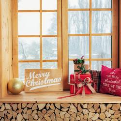 Świąteczne dekoracje na okna - inspiracje